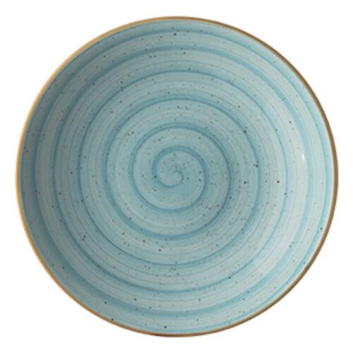 Tallrik Boona Aqua Bloom ∅28 cm