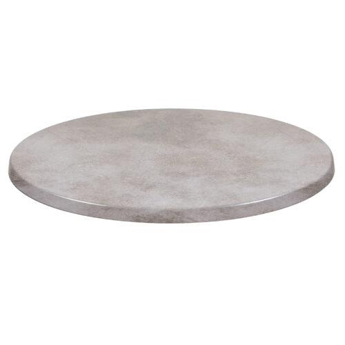 Bordsskiva 60 cm, zink
