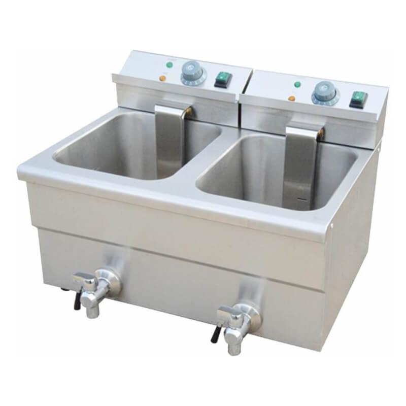 Fritös dubblel 24 Liter 3,25kW x2