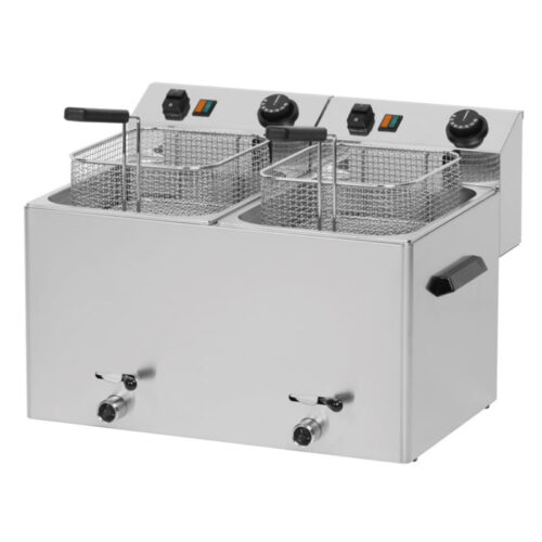 Fritös FE-77V 2x7-8 liter 3x 3kW