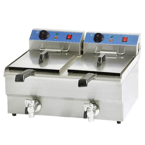 Fritos 2x 6 liter 2x 3,25 kW